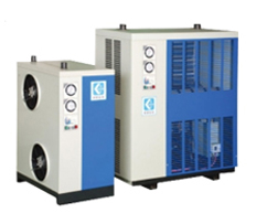 ADH Series High Inlet Temperature Refrigerated Dryer with Shell and Tube Heat Exchanger